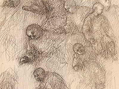 Putti 09 Din ciclul Studiu pentru manierism