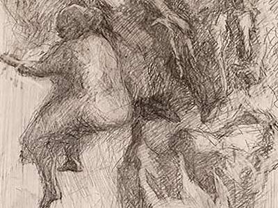 Putti 03 Din ciclul Studiu pentru manierism